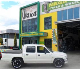 Vehicle Make: Toyota<br>Vehicel Model: Hilux 2WD 2005+<br>Wheel