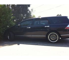 Vehicle Make: Honda<br>Vehicel Model: Odyssey<br>Wheel Model: OX