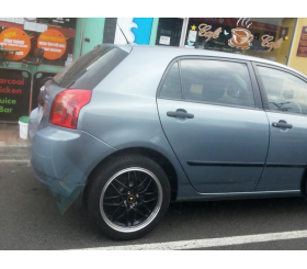 Vehicle Make: Toyota<br>Vehicel Model: Starlet<br>Wheel Model: O