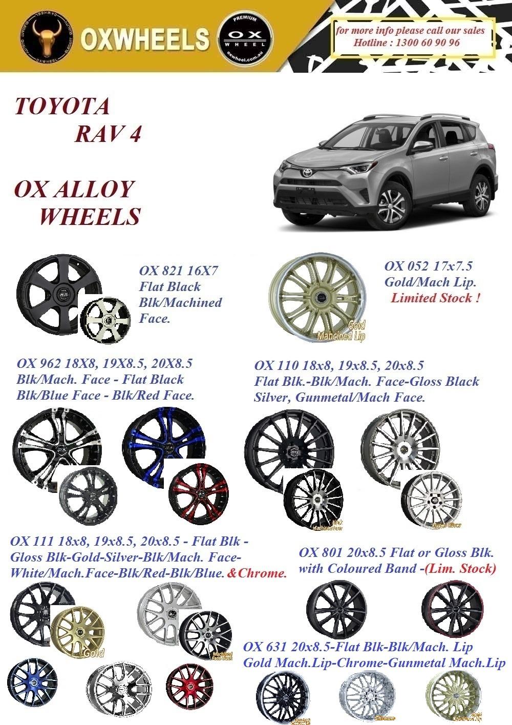 OXWheel 4x4 Wheels