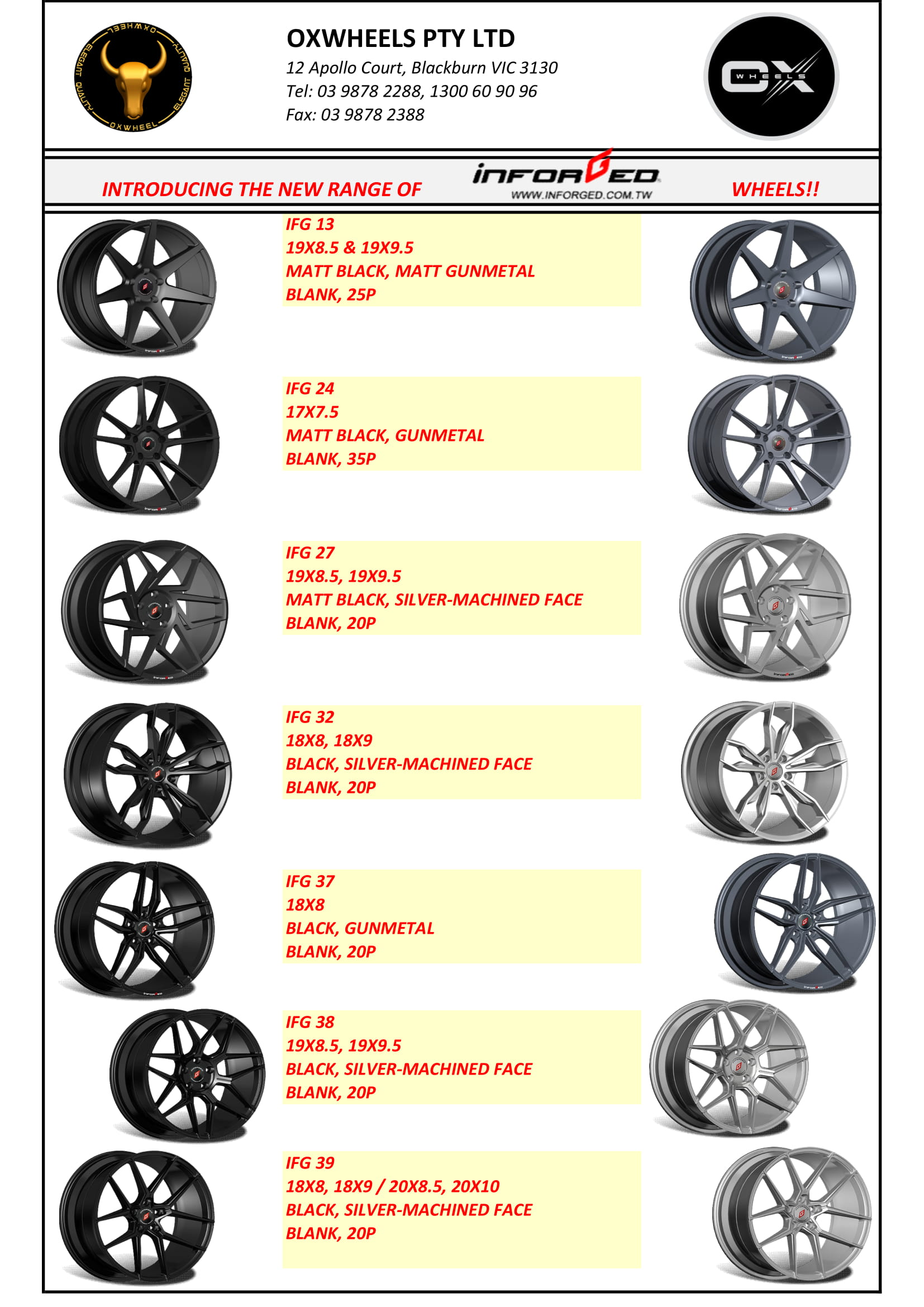 Inforged Wheels